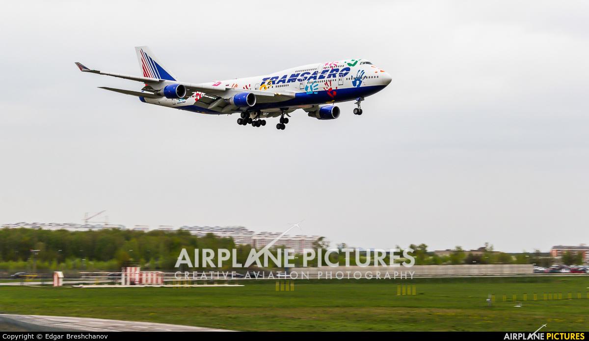 Transaero Airlines EI-XLK aircraft at Moscow - Vnukovo