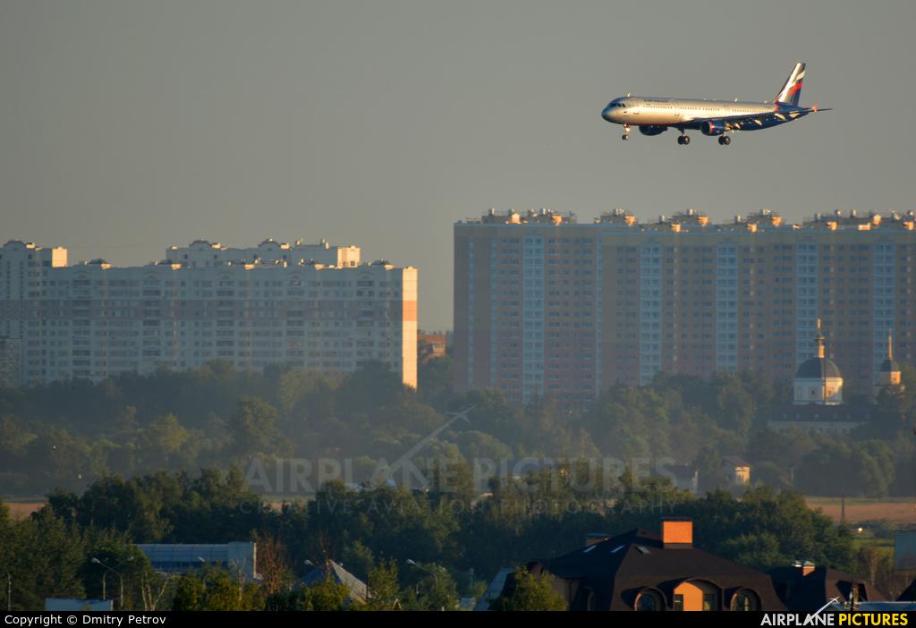 Aeroflot VQ-BEI aircraft at Moscow - Sheremetyevo