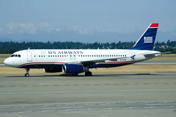 N662AW - US Airways Airbus A320