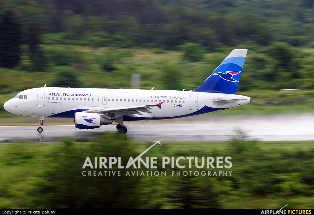 Atlantic Airlines OY-RCH aircraft at Tivat