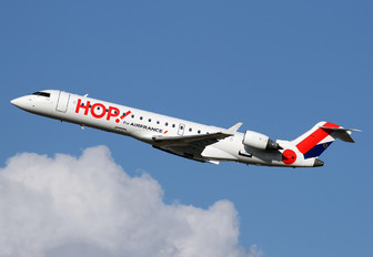 F-GRZI - Air France - Hop! Canadair CL-600 CRJ-701