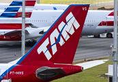 PT-MVS - TAM Airbus A330-200 aircraft