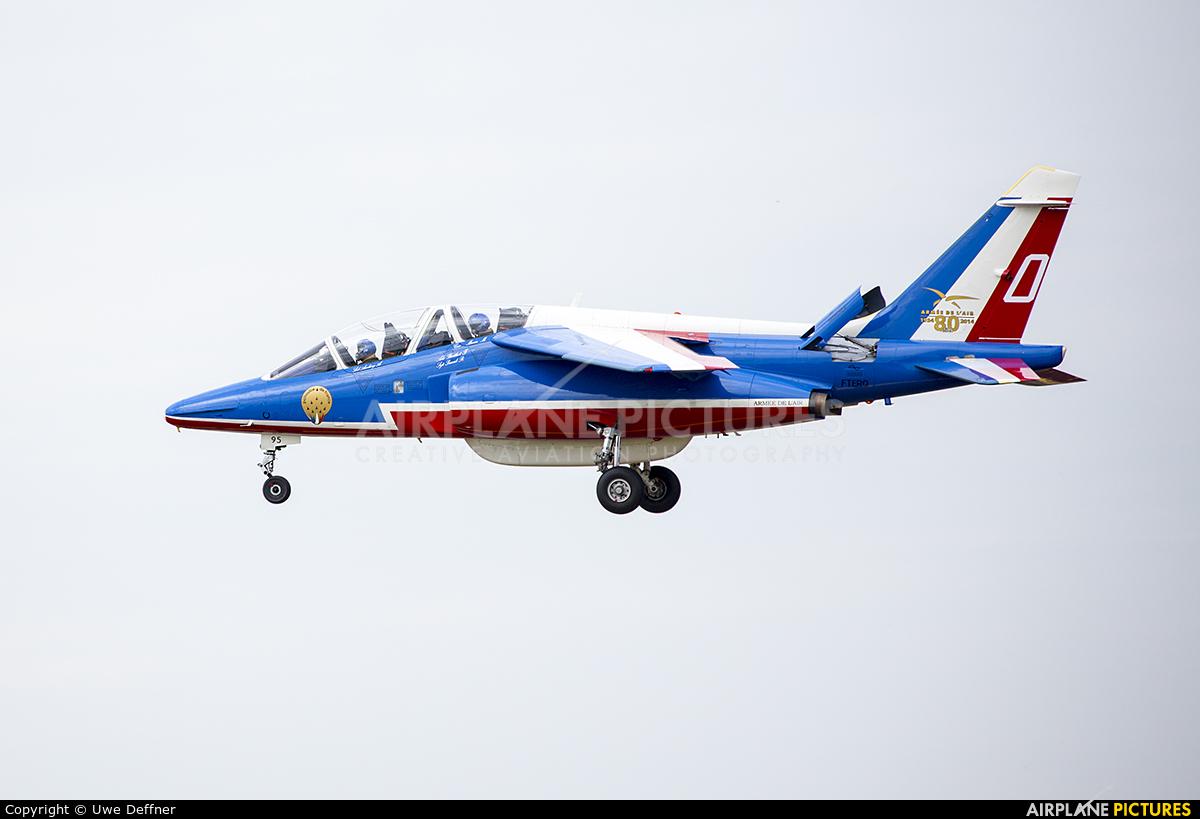 "France - Air Force ""Patrouille de France"" E95 aircraft at Fairford"