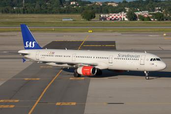LN-RKI - SAS - Scandinavian Airlines Airbus A321