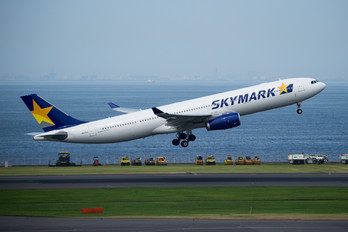 JA330A - Skymark Airlines Airbus A330-300