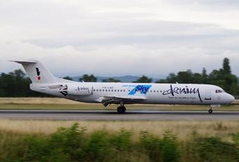 PH-LND - Denim Air Fokker 100