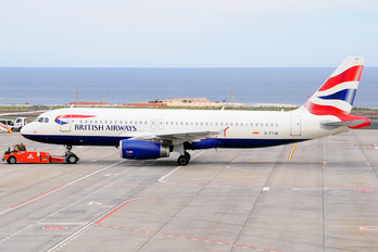 G-TTOB - British Airways Airbus A320