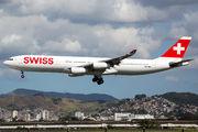 HB-JMJ - Swiss Airbus A340-300 aircraft