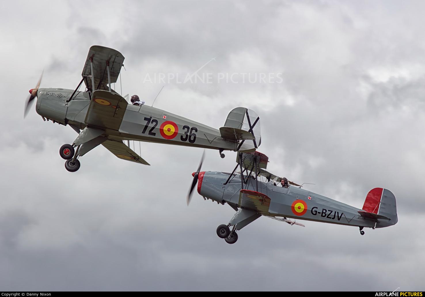 Private G-BZJV aircraft at Manchester - Barton