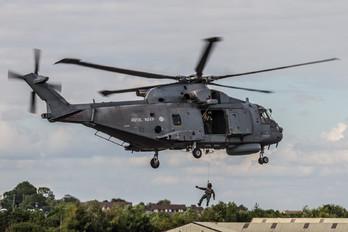 ZH856 - Royal Navy Agusta Westland AW101 111 Merlin HM.1
