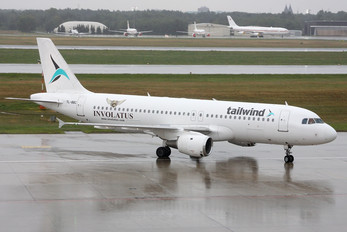 YL-BBC - Tailwind Airlines Airbus A320