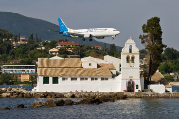 UR-GAP - Blue Panorama Airlines Boeing 737-400