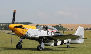 G-BTCD - Private North American P-51D Mustang
