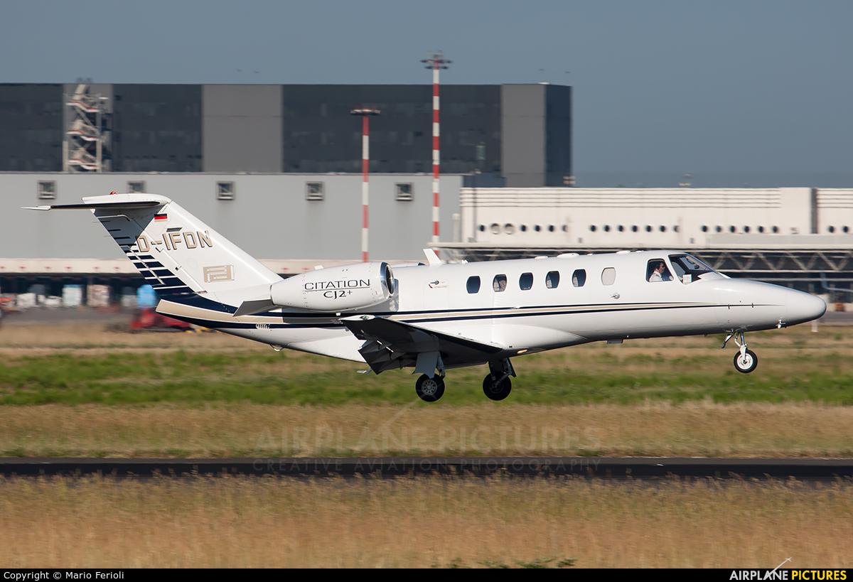 Private D-IFDN aircraft at Milan - Malpensa