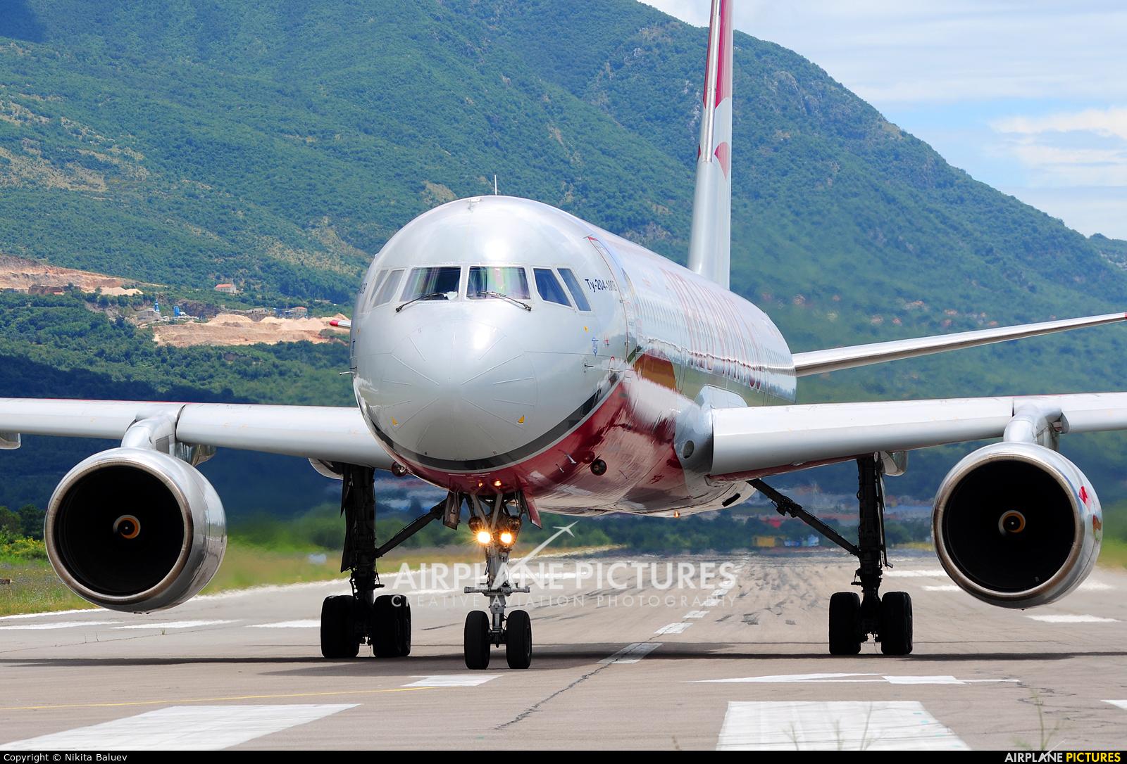 Red Wings RA-64050 aircraft at Tivat