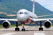 Rare visit of Tu-204 in Tivat title=