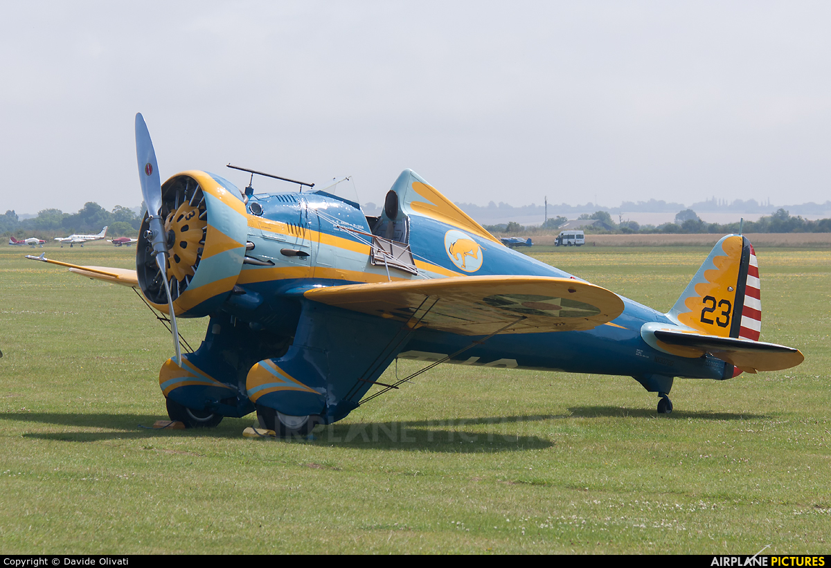Planes of Fame Air Museum N3378G aircraft at Duxford