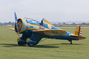 N3378G - Planes of Fame Air Museum Boeing P-26A Peashooter