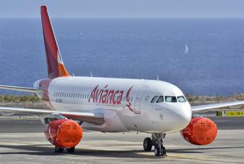 N723AV - Avianca Airbus A319