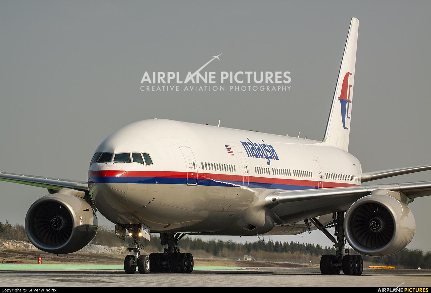 Malaysia Airlines 9M-MRD aircraft at Stockholm - Arlanda