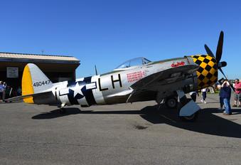 NX1345B - Private Republic P-47D Thunderbolt