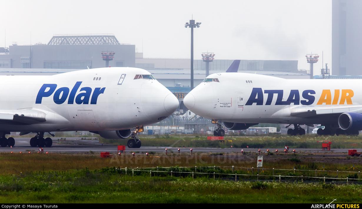 Polar Air Cargo N452PA aircraft at Tokyo - Narita Intl