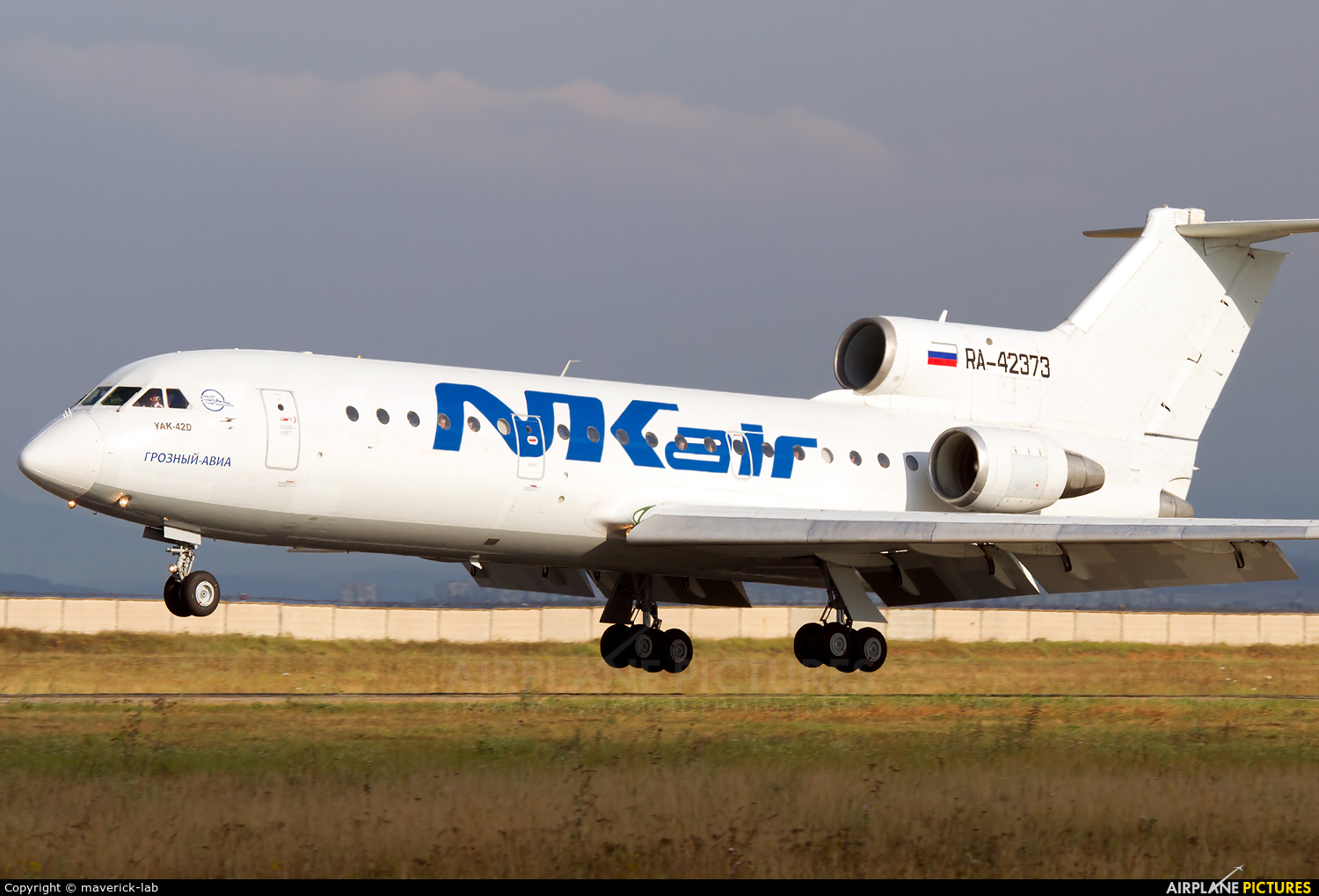 NK Air RA-42373 aircraft at Simferepol Intl