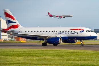 G-EUPW - British Airways Airbus A319