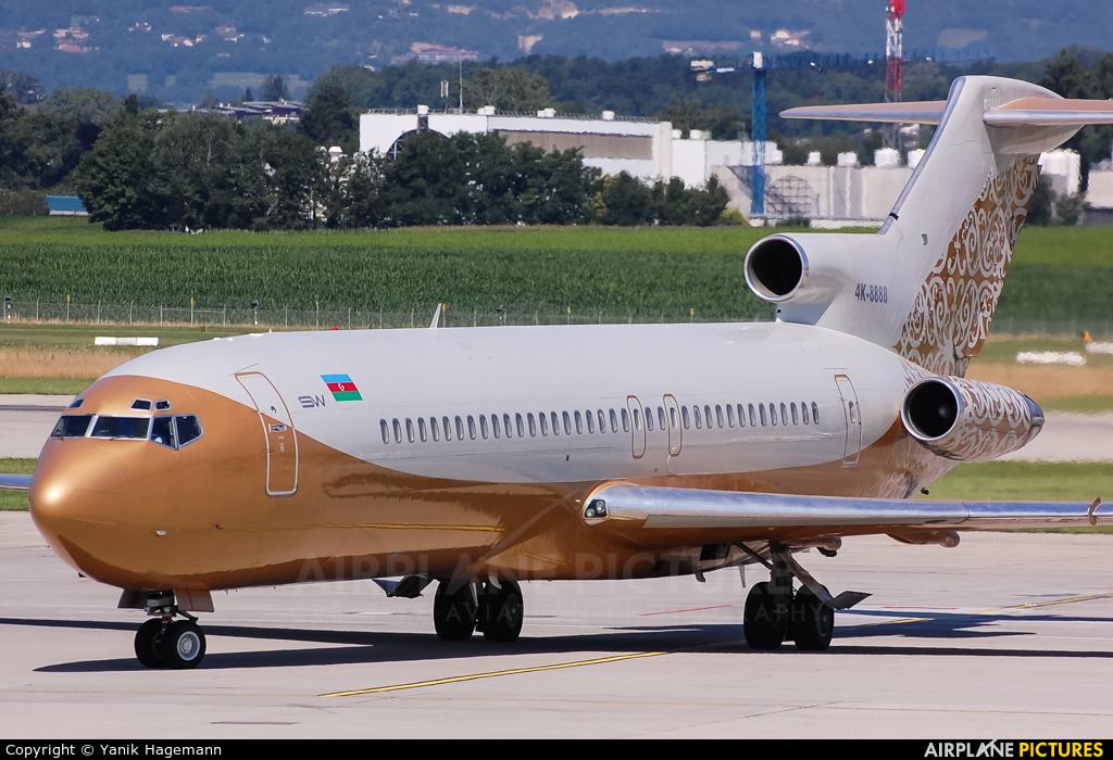 ESW Business Aviation 4K-8888 aircraft at Geneva Intl