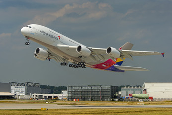 F-WWAQ - Asiana Airlines Airbus A380