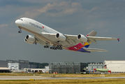 F-WWAQ - Asiana Airlines Airbus A380 aircraft