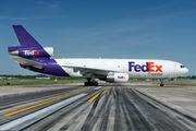 N385FE - FedEx Federal Express McDonnell Douglas MD-10-10F  aircraft