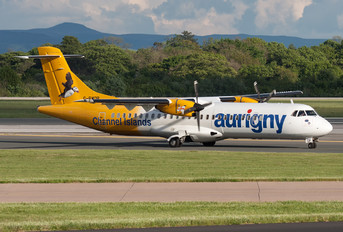 G-BWDB - Aurigny Air Services ATR 72 (all models)