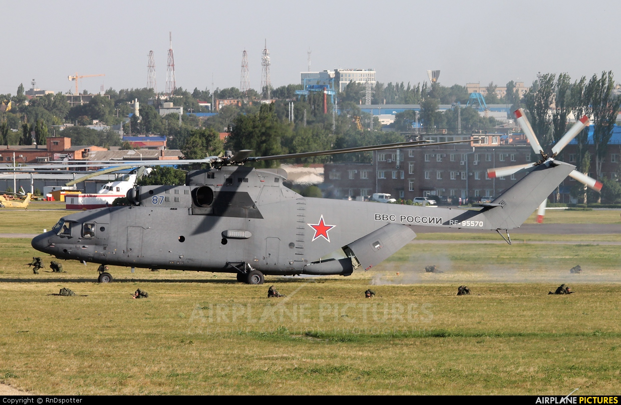 Russia - Air Force 87 aircraft at Off Airport - Russia