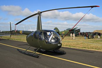 63 - Estonia - Air Force Robinson R44 Astro / Raven