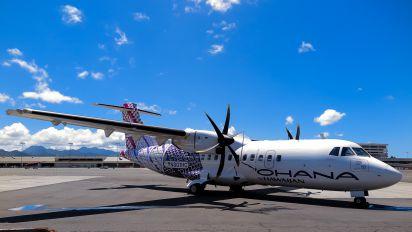 N801HC - Hawaiian Airlines ATR 42 (all models)