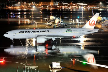 JA707J - JAL - Japan Airlines Boeing 777-200ER