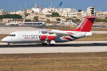 5A-FLA - Air Libya British Aerospace BAe 146-300/Avro RJ100