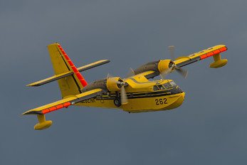 N262NR - Aero Flite Equipment Leasing Inc. Canadair CL-215