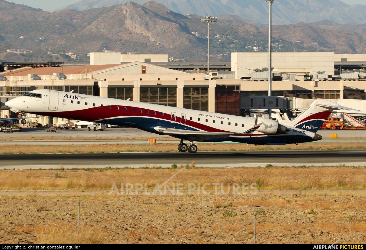 Arik Air 5N-JEC aircraft at Málaga