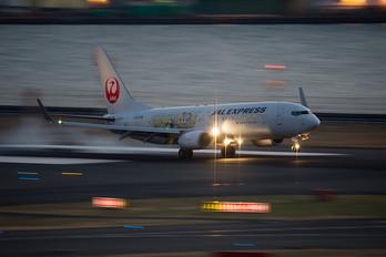 JA329J - JAL - Express Boeing 737-800