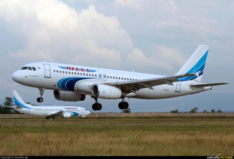 Yamal Airlines VP-BCN aircraft at Simferepol Intl