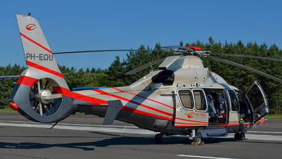 PH-EQU - Heli Holland Offshore Eurocopter EC155 Dauphin (all models)