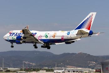 EI-XLK - Transaero Airlines Boeing 747-400