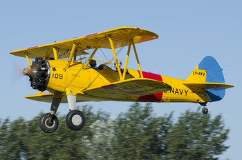 LV-ZKU - Private Boeing Stearman, Kaydet (all models)