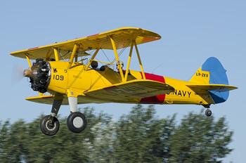 LV-ZKU - Private Boeing Stearman, Kaydet (all models)