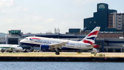 G-EUNB - British Airways Airbus A318