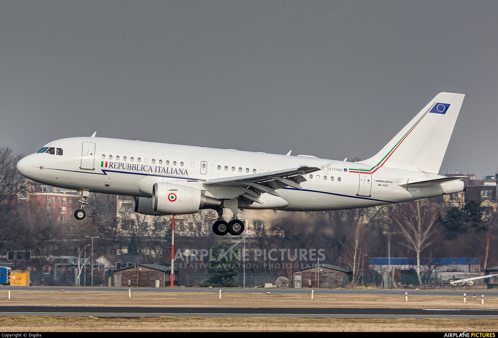Italy - Air Force MM62243 aircraft at Berlin - Tegel