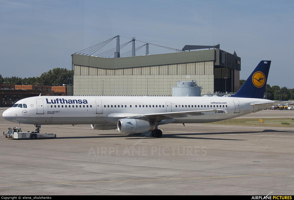 Lufthansa D-AIRM aircraft at Berlin - Tegel