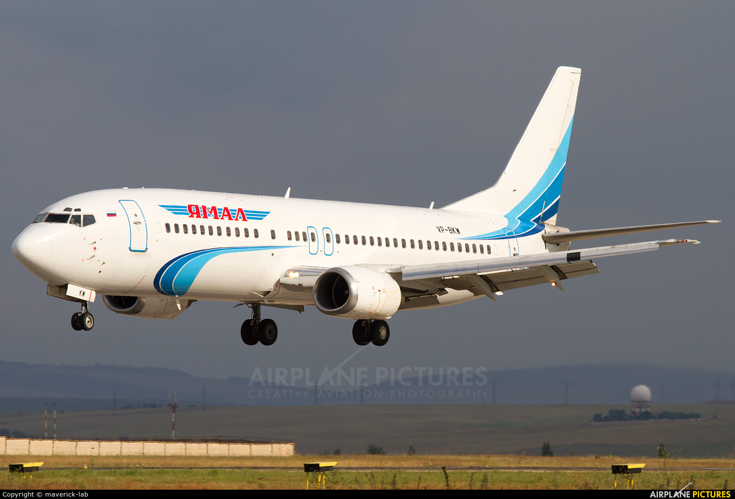 Yamal Airlines VP-BKW aircraft at Simferepol Intl